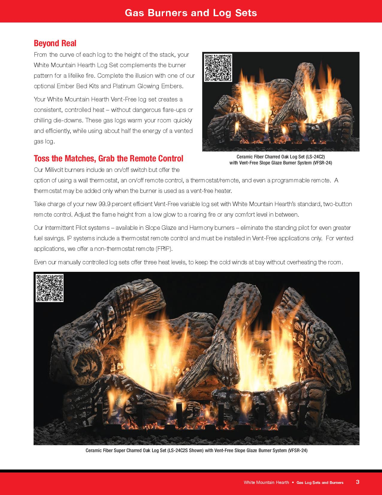 hearth grills broilmaster by empire comforter info gas mountain logs comfort white image systems