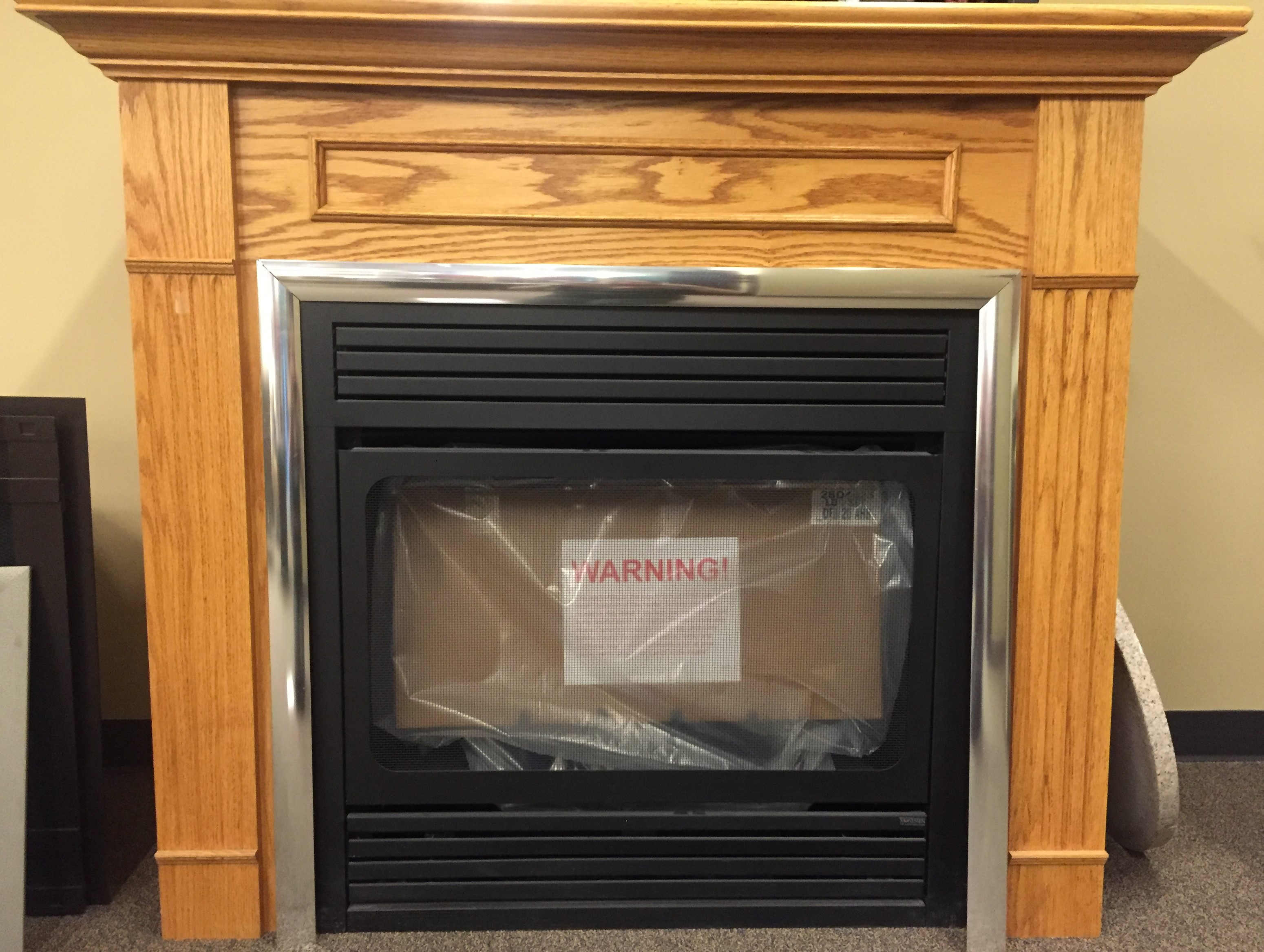 32u2033 MONESSEN VENTLESS FIREPLACE U0026 CABINET
