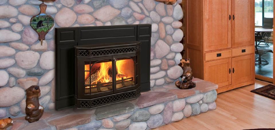 Merrimack Wood Burning Fireplace Insert  Fireplace Inserts Wood