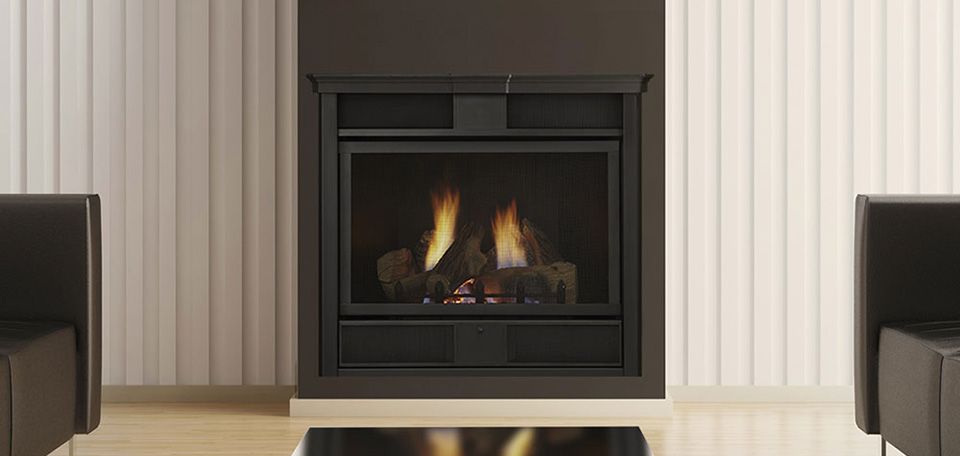 Symphony vent free gas fireplace for Fireplaces southwest